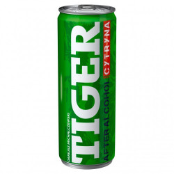 TIGER After Alcohol